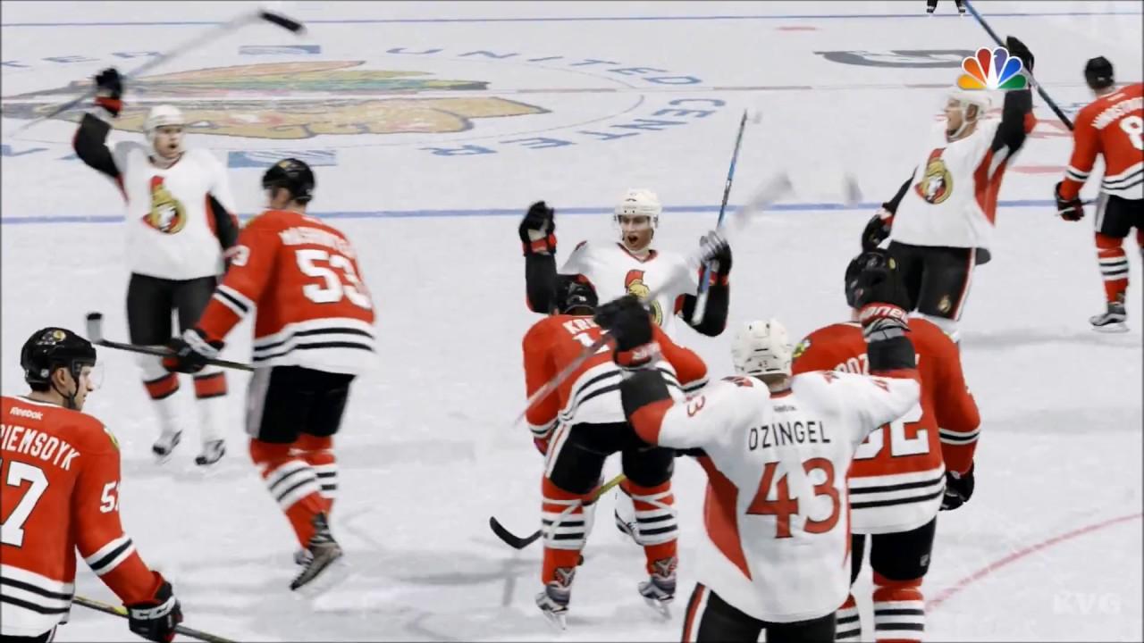 6c1c92f2062 NHL 17 - Ottawa Senators vs Chicago Blackhawks
