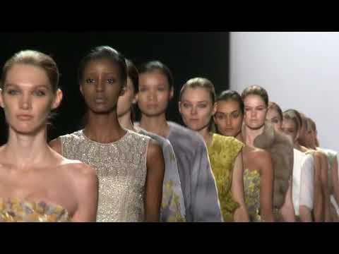 EVENT CAPSULE CLEAN - Dennis Basso - Spring 2015 Mercedes-Benz Fashion Week