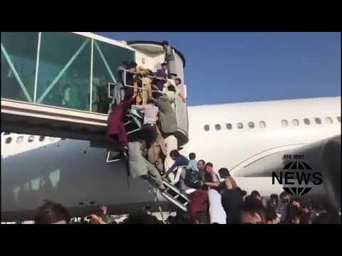 AFEGANISTÃO:  Imagens mostram caos e desespero dos afegãos após entrada do Talibã em Cabul