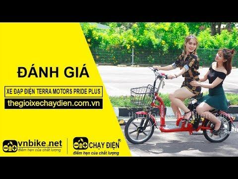 Đánh giá xe đạp điện Terra Motors Pride Plus