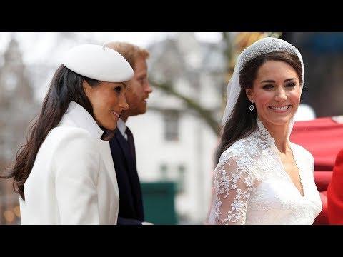 Why Meghan Markle won't be wearing tiara worn by Kate to her royal wedding