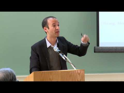 Solomon Hsiang: Quantifying the Influence of Climate on Human Conflict