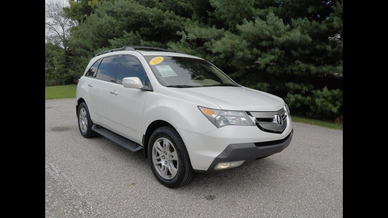 2009 acura mdx 3 7 sh awd technology package p10437a youtube. Black Bedroom Furniture Sets. Home Design Ideas