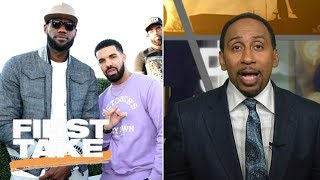 Stephen A. Smith Talks LeBron James' Instagram Game | First Take | ESPN