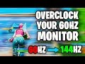 - Increase Refresh rate for FREE! - How to Overclock your 60Hz Monitor AMD, Intel, Nvidia