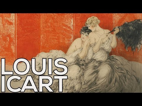 Louis Icart: A collection of 293 etchings (HD)