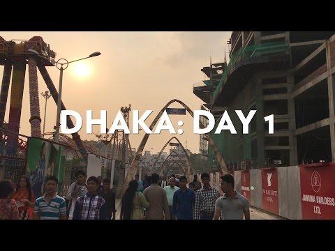 Dhaka, Bangladesh: Day 1 - We went to a Mall