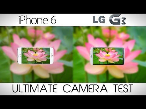 iPhone 6 vs LG G3 - Ultimate Camera Comparison