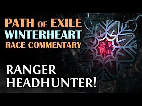 HEADHUNTER - The Most Insane Race Mode in Path of Exile (Ranger) Winterheart Season