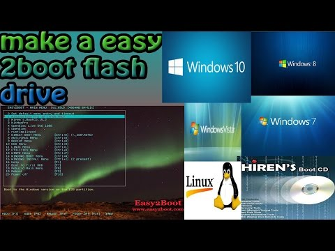 How To Install Windows From A Flash Drive With Easy 2 Boot