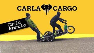 CarLa BrutaLa - worldwide first ever done wheelie with CARLA CARGO