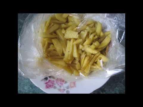 Запекаем  картошку в микроволновке в рукаве  за 15 минут