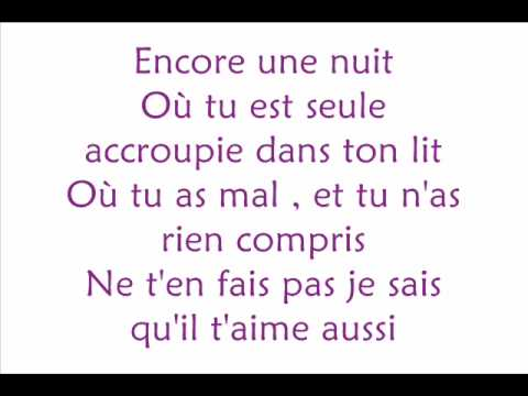 Marie-mai - Encore une nuit  Lyrics