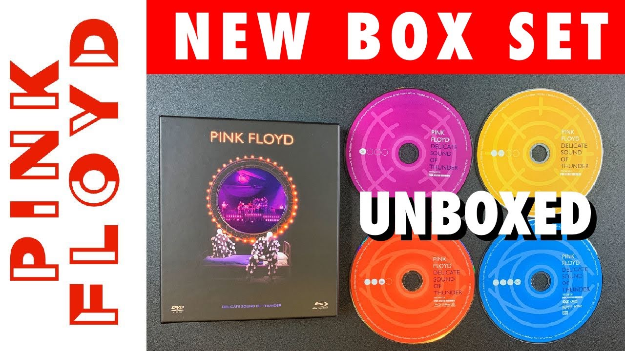 """UNBOXED: NEW Pink Floyd """"Delicate Sound of Thunder"""" 2020 Deluxe Box Set"""