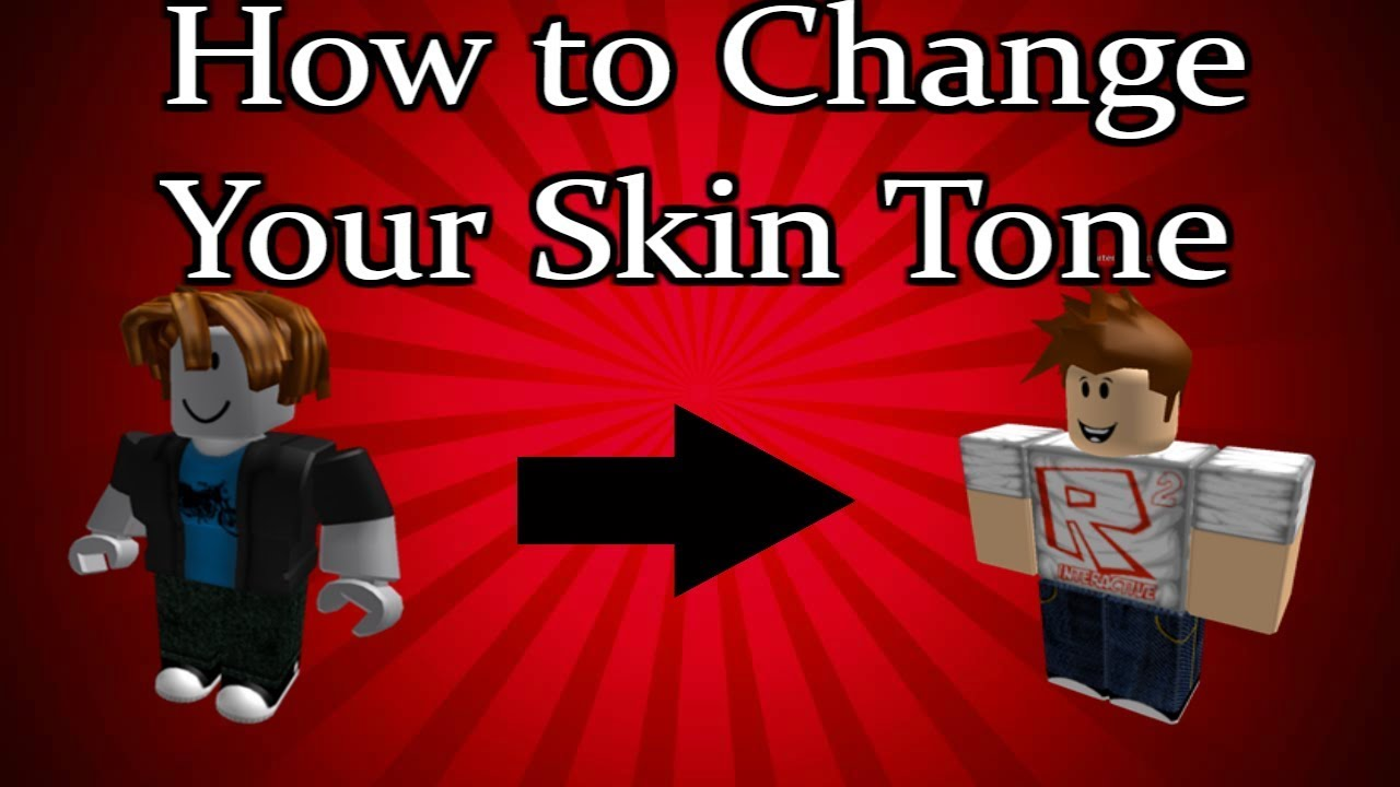 How To Change Your Skin Tone In Roblox 2020 Youtube