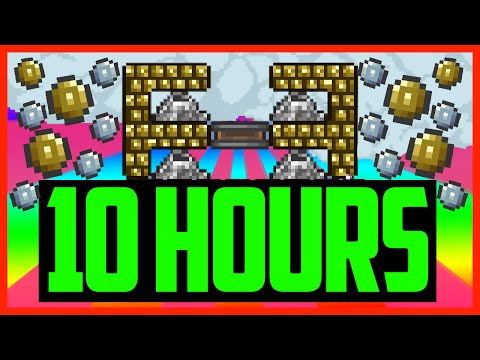 Terraria: Loot From 10 Hours of MONEY GLITCH In Terraria