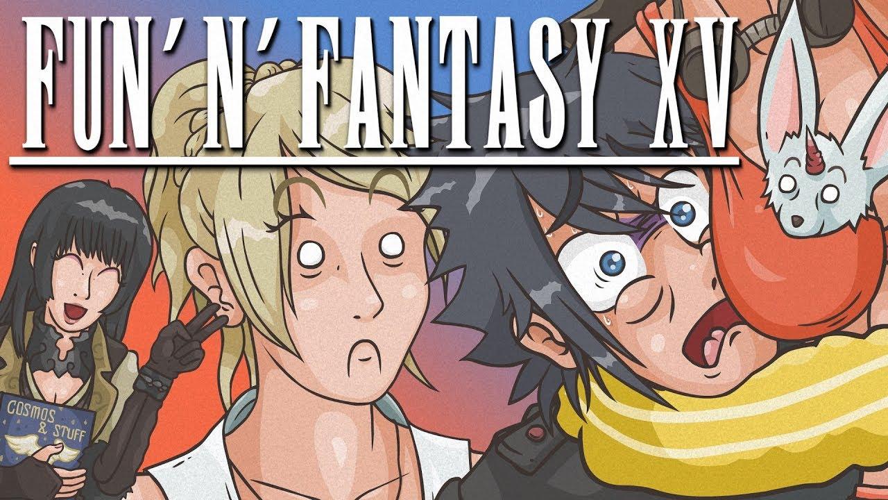 FUN 'N' FANTASY XV (Final Fantasy XV Cartoon Parody)
