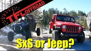 We Need To Talk! If You Could Buy Either a Wrangler or SXS: Which Should You Get?