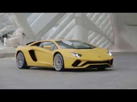 Lamborghini Aventador S Launch / Первый тест-драйв тест-драйв Lamborghini Aventador S