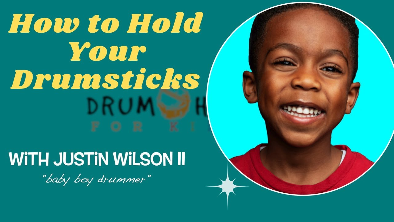 How to Hold Your Drum Sticks