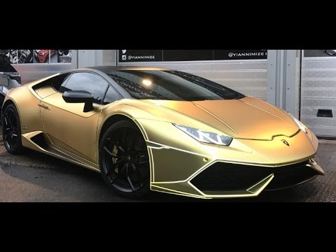 Deji S New Wrapped Lambo Youtube