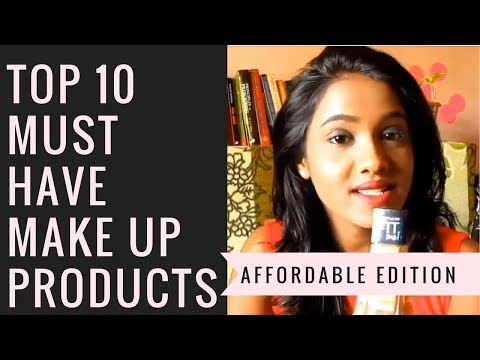 Top 10 affordable products every girl must own | Makeup essentials | Beginner's guide to makeup