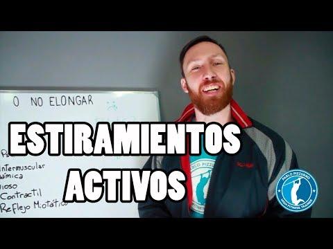 ESTIRAMIENTOS ACTIVOS ANTES DE ENTRENAR