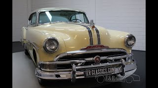 Pontiac Chieftain Coupe 1953 -VIDEO- www.ERclassics.com