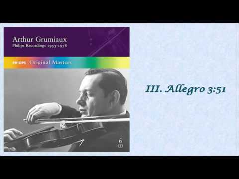 BACH: Violin Sonata No. 6 in G Major BWV 1019