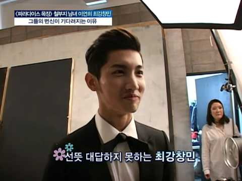"110215 SBS ""Good morning"" - Changmin interview CUT"