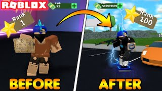 HOW TO INSTANTLY RANK UP TO LEVEL 100! (ROBLOX Mad City Season 3)