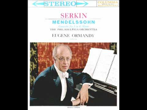 Memdelssohn-Piano Concerto No. 1 in g minor Op. 25 (Conplete)
