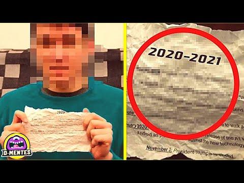 ¡Increíble! El Viajero Del Tiempo Que Advierte Esto A La Humanidad Del 2021