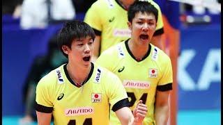 石川祐希 Yuki Ishikawa Japan vs Korea 2017 FIVB World League