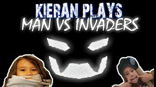 KIERAN PLAYS MAN VS INVASORES | | ROBLOX