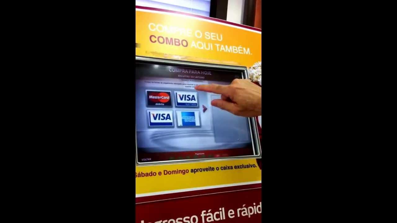 d2e90b08052b8 Compra de ingresso digital no cinema. - YouTube