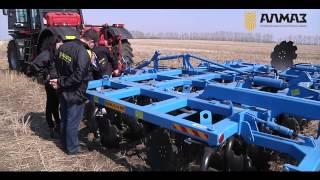 видео Почвообрабатывающая техника