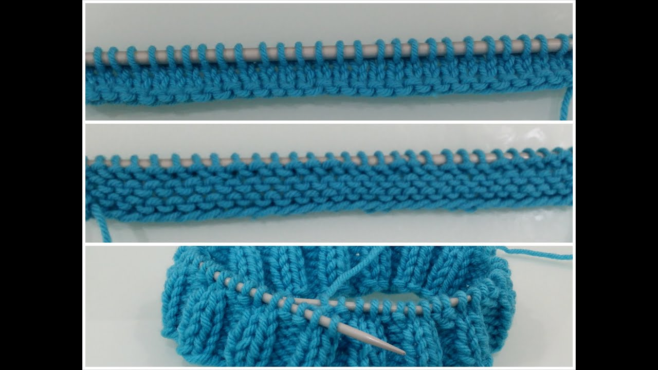 Knitting How To Cast On For Beginners : How to cast on knit and purl for beginners in slow