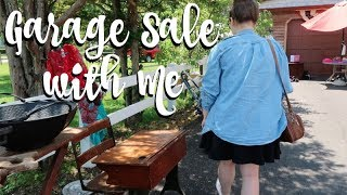 GARAGE SALE WITH ME | HAUL | CITY-WIDE SALE