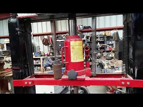 DIY 20 Ton Hydraulic Press  Update !