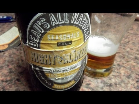 Beau's Night Marzen - #459 - Maxwell Starr's Beer Review