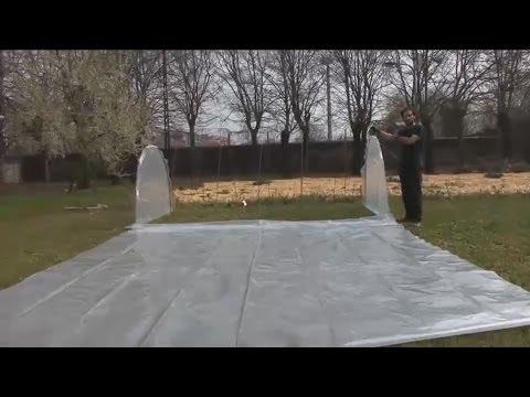 Costruire una serra per l'orto