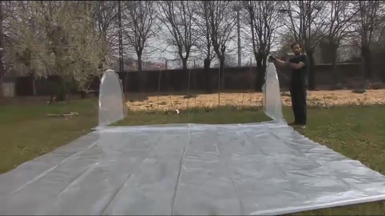 Come costruire un tunnel protettivo per orto e serra ...