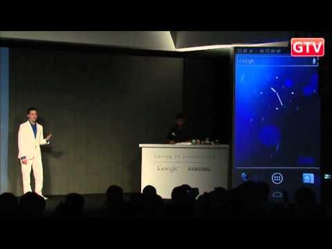 Презентация Galaxy Nexus и Android 4.0 (перевод на русский язык)