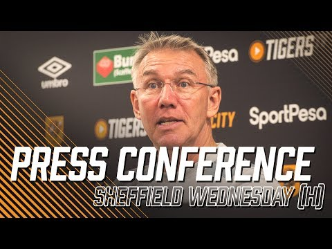 Sheffield Wednesday (h) | Nigel Adkins Press Conference
