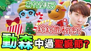 【集合啦!動物森友會#19】新更新~第一次「🎅🏼過聖誕節」竟然是這樣😂?!發現鈴鈴鹿的秘密?😏