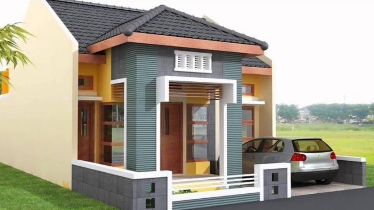 Desain Rumah Minimalis 1 Lantai Sederhana - YouTube