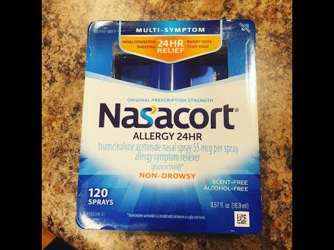 Nasacort 24 Hour Allergy Relief Nasal Spray Review
