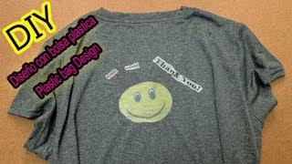 Decora camisetas con bolsas plásticas ♥ Decorate t-shirts with plastic bags Thumbnail