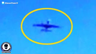 "FAKE Alien ""Plane"" Vanishes In Front Of Multiple Witnesses! 11/23/2015"